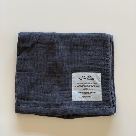 SHINTO TOWEL / 2.5-PLY GAUZE TOWEL バスタオル/M