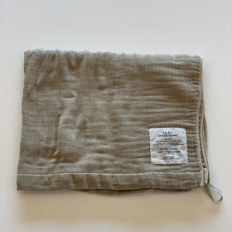 SHINTO TOWEL / 2.5-PLY GAUZE TOWEL バスタオル/L