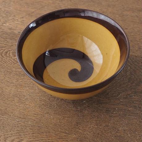 統制陶器のうずまき茶碗