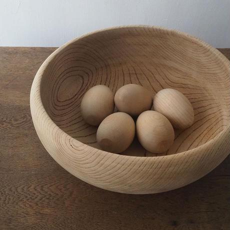 木製の偽卵(5個セット)