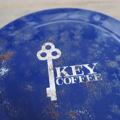 KEY COFFEE のブリキ缶