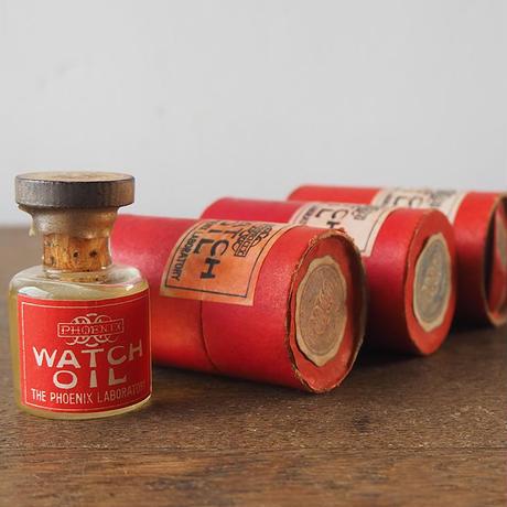 時計オイルの小瓶