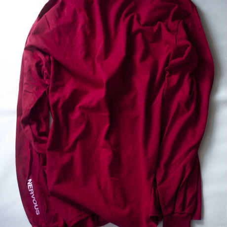 Lyric long sleeve T- shirt/Red