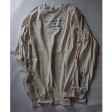 Lyric long sleeve T- shirt/natural