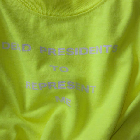 Lyric long sleeve T- shirt/yellow