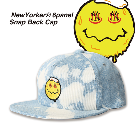 NewYorker Denim 6panel Snap Back