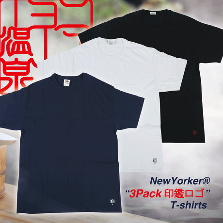 NewYorker 3Pack印鑑ロゴ T-shirts