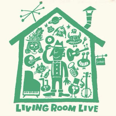 LIVING ROOM LIVE Kids-T Ivory×Green