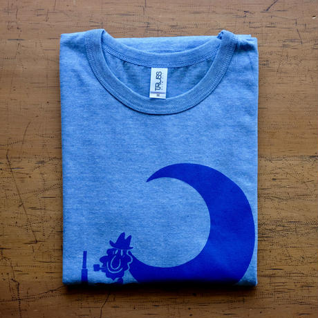 TRACTOR T-Shirts Light Blue SIZE:M