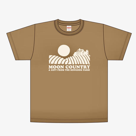 FULL MOON T-Shirts 2021 Brown×Ivory
