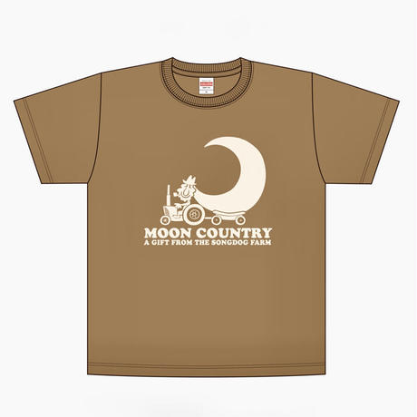 TRACTOR T-Shirts 2021 Brown×Ivory