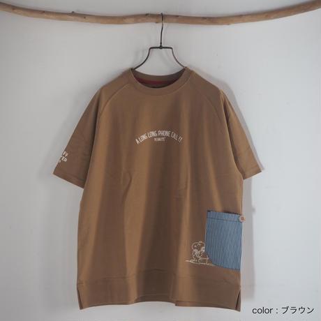 SNOOPYサイドポケットT[KRIFF MAYER](41229014)