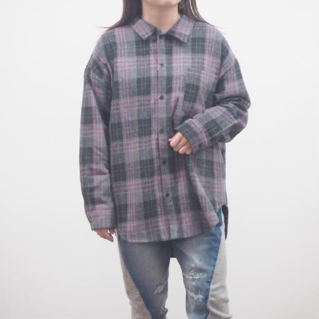 起毛チェックLSシャツ(40479223)