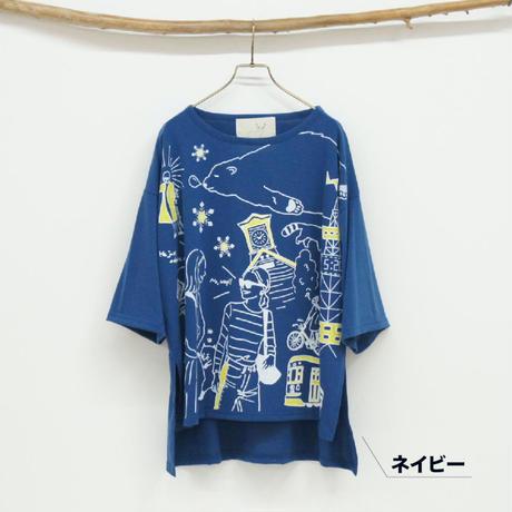 手書き北海道プリントT【#Pokke】(40129122)