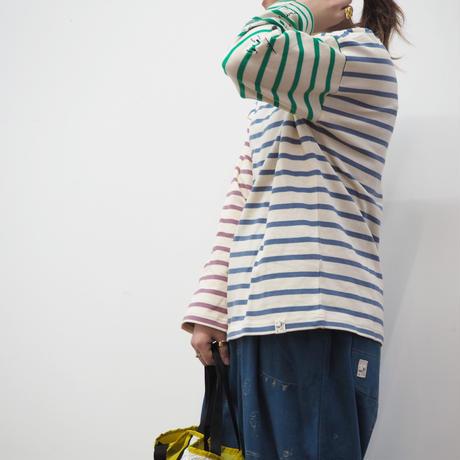 刺繍入りボーダープルオーバー(41129047)