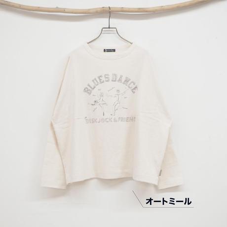 DANCE刺繍横広T(41129017)