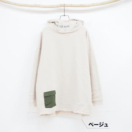 Lime裏起毛布帛ポケットPK【lime.inc】(40428610)