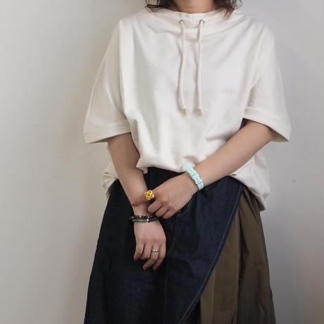 ミニ裏毛ルーズハイネックプルオーバー(41129001)