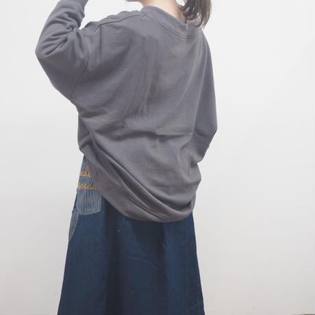 裏毛ルーズハイネックプルオーバー(41129037)