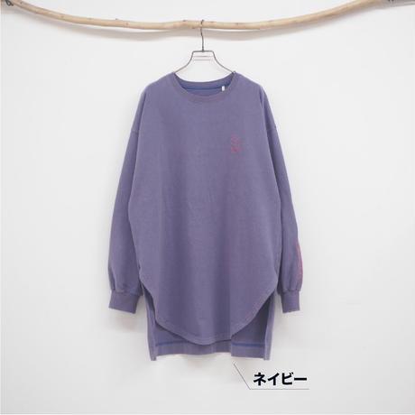 パウダー加工ロングTシャツ【#Pokke】(41120832)