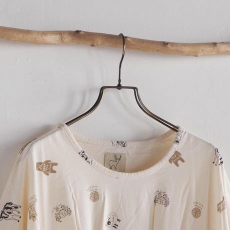 #Pokke北海道総柄カシュクールTシャツ(41128361)[#Pokke]