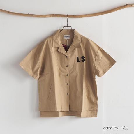 刺繍BIGシャツ(41178604)[LIME.INC]