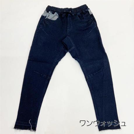 デニムイージーサルエルパンツ 【DOUBLE NAME】(17249050)