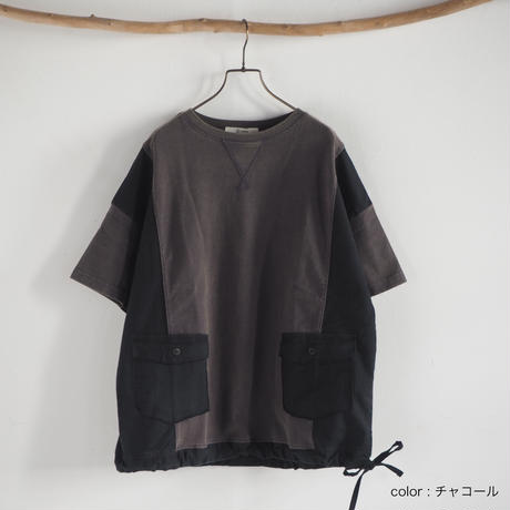 異素材ポケットTEE(41229138)