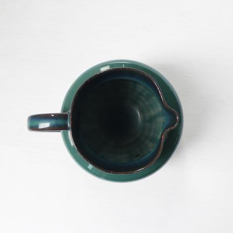 green  ceramic  pot