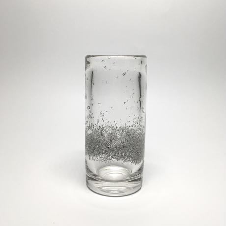 泡のクリア花瓶
