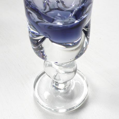 purple  gradation glass