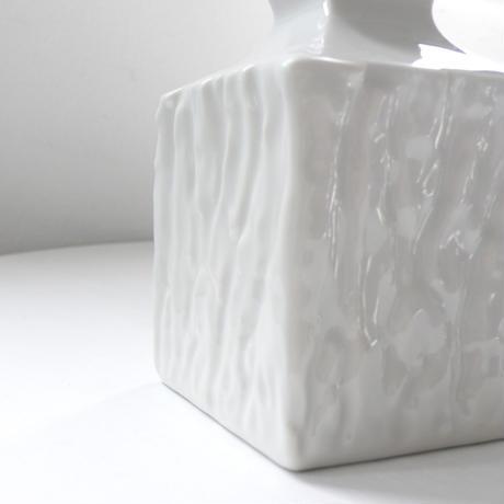 square  ceramic  vase