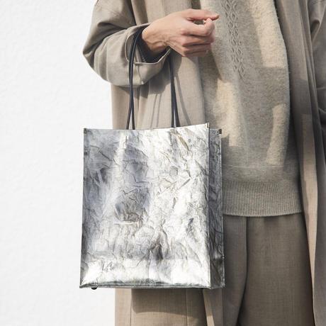 手もみ銀箔 shopper bag【6/10〆切・8月末お届け】