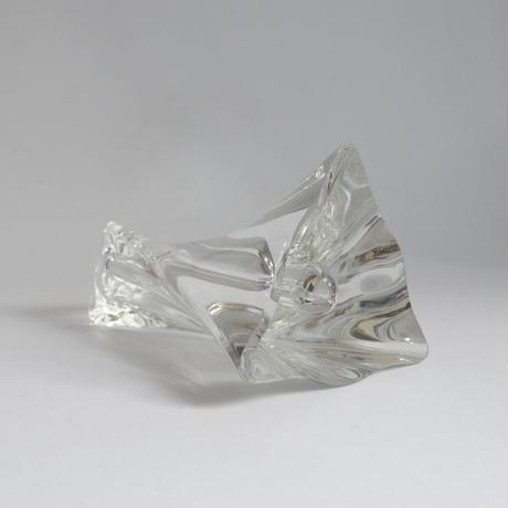 Twist glass vase