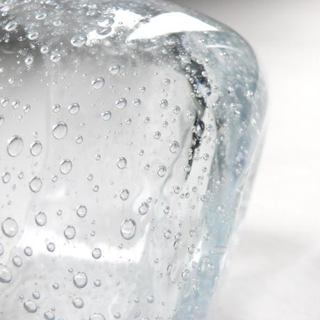 Bubble glass bowl