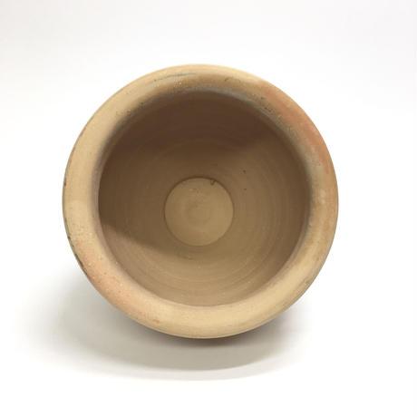 ねじねじの素焼き鉢