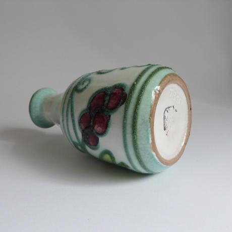 葡萄柄の花器
