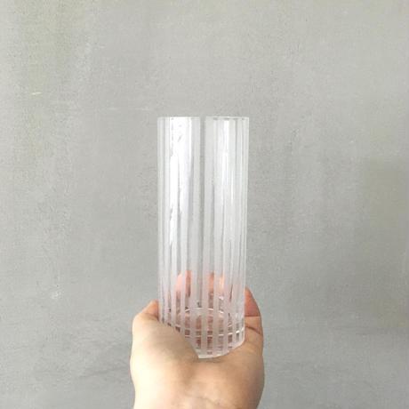 ストライプのグラス