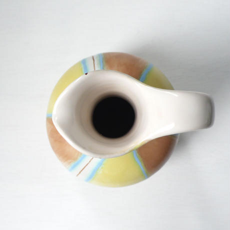 stripe  ceramic vase