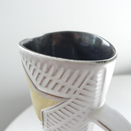 tall ceramic vase