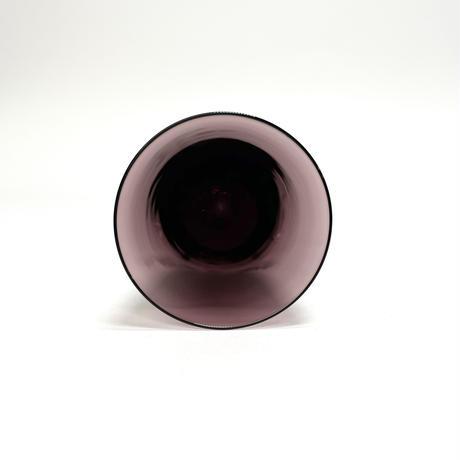 波打つミニグラス ・紫