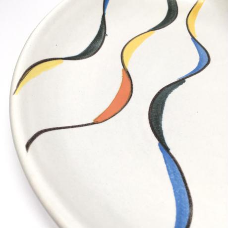 カラフルな大皿