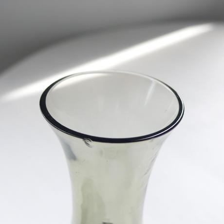 gray  glass  mini  vase