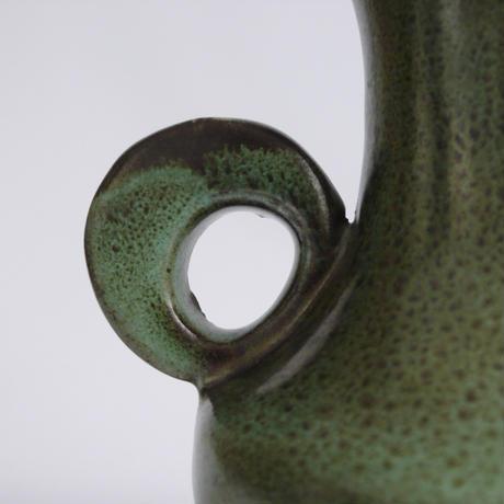 苔色の花器