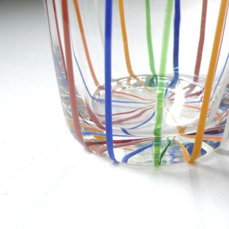 stripe  colorful  glass
