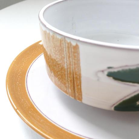 beans ceramic soup cup