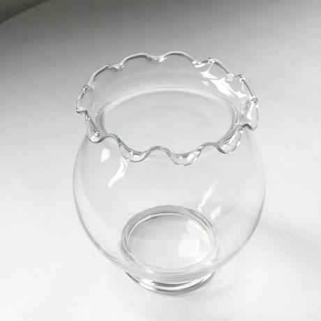 hirahira glass vase