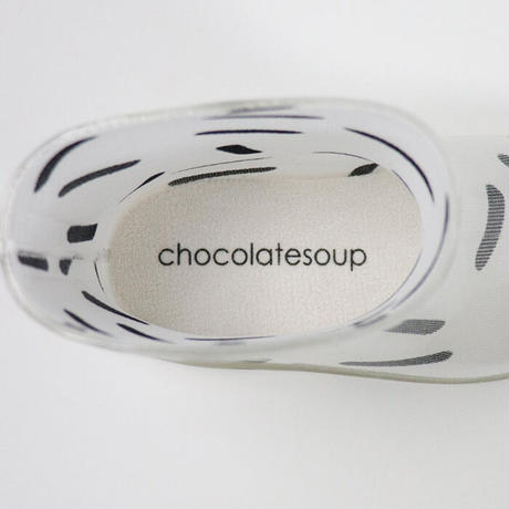 【chocolatesoup | チョコレートスープ】GEOMETRY SHORT RAINBOOTS