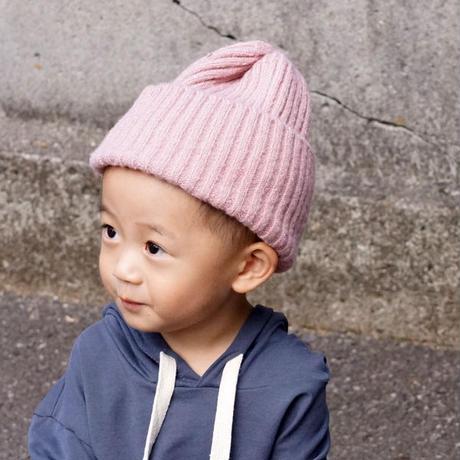 シンプルニット帽 (フリーサイズ)