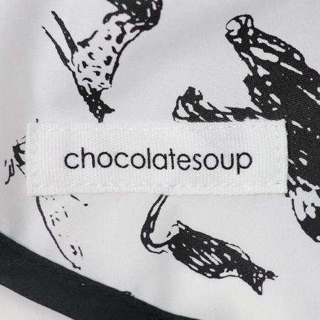 【chocolatesoup   チョコレートスープ】GEOMETRY MEAL BiB